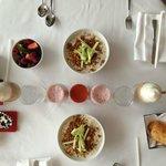 our breakfast, Muesli was so good