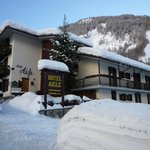 Panoramica dell'Hotel Aigle
