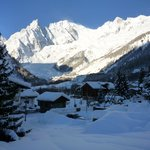 Vista del Monte Bianco direttamente dalla camera