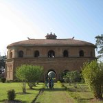 The Ahom Architecture wonder - don't miss the inverted boat shaped roof