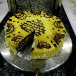 Cake in the restaurant