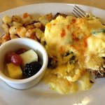 The breakfast scrambler, it's so yummy!!