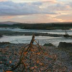 Spey Bay on a winter's evening - magical