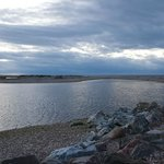 The river at Spey Bay