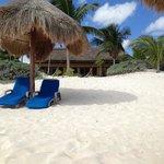 Cabana vid stranden