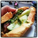 As delicious as a banh mi can get!