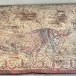 Camera dell'eros: particolare di affresco etrusco