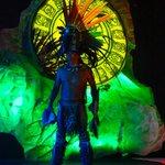 Mayan Warrior show, amazing!