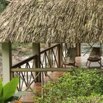 Yoga Palapa overlooking the Macal River