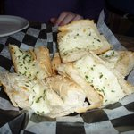 appetizer garlic bread with cheese