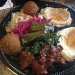yummy - veggie plate !