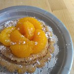 Brown Butter Tart with Mandarin Oranges