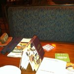 our table...