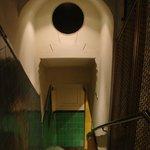 Acesso por escada à portaria