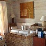 Livingroom of Villa