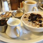 Porridge or as they call multi-grain hot cereal - yummy!!!