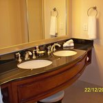Double sinks in bathroom (Nice!)