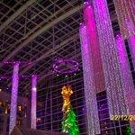 Atrium at Christmas