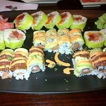 Fantastic roll, ci ci roll, pepper tuna roll