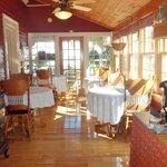 Enclosed Public Sun Room/Porch