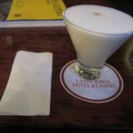 Free Pisco Sour At The Bar.