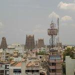 View of Meenakshi Amman temple