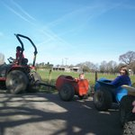 Tractor ride thro' the park