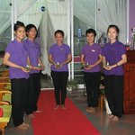 A warm welcome awaits you from our fully trained staff