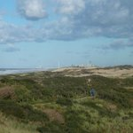 view on the dunes, in the end you can see Scheveningen