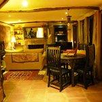 Gate house lounge room
