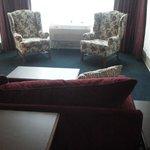 Living room in VIP suite
