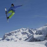 Stoked Zermatt snowboard freestyle lessons