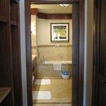 view of suite bathroom