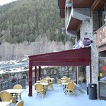 Polar Base new terrace
