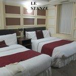 camera da due letti matrimoniali