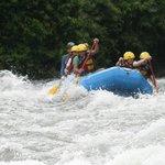 mucha acción en el rio sarapiqui