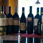 Our Wine selection.