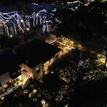 View of La Villita at Christmas