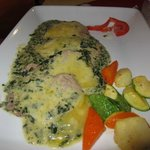 Beef Scallopini w Spinach & Cheese