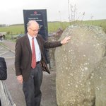 Here's Martin telling us about the two typs of stones used at Stonehenge