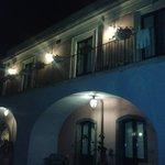 l'albergo in notturna
