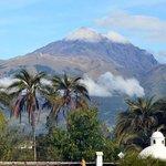 Mountain Cotacachi (volcano)