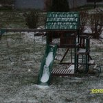 playset with snow