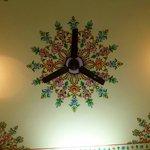 Room ceiling mural