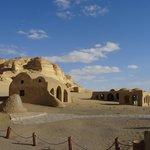 Visitor's center at Wadi El-Hitan