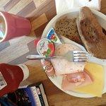 Tutte le mattine ci preparavano questa colazione!