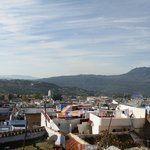 Good morning Chefchaouen from Der Meziana terreace