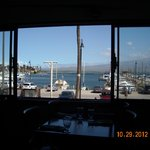 The lovely view from our table @ Buzz's