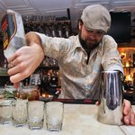 Mixologist Adam Knight