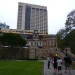 Hotel desde Anzac Square